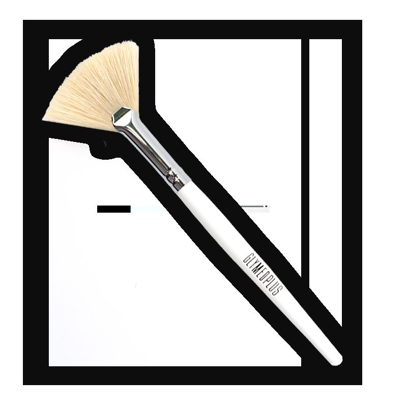 GlyMed Logo Fan Brush