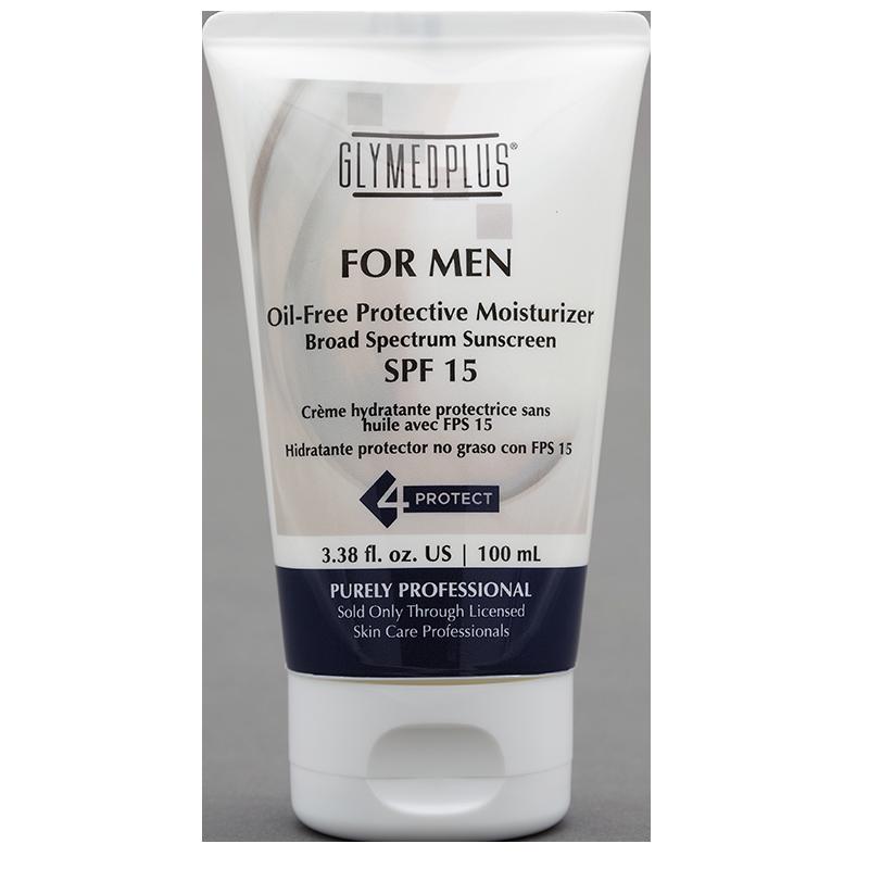 Mens Oil-Free Sunscreen SPF 15